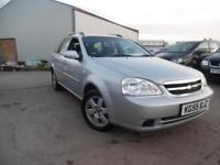 CHEVROLET LACETTI SX 1.6 PETROL ESTATE LOW MILEAGE 12 MONTHS MOT
