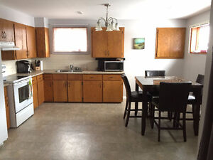 June 1st – Large and Bright Basement Apartment All Inclusive