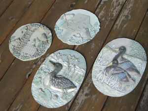 Like New 2 Sets of Wall Hangings of Ducks & Birds