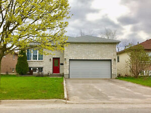 Spacious 3 Bedroom Upper Level in Detached Bungalow S. Barrie