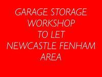 Garage workshop storage unit