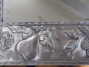 Absolutely stunning Seagull Pewter Accent Mirror