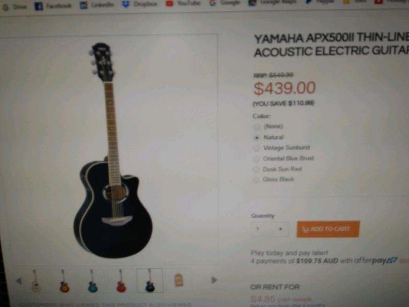 Acoustic electric guitar   Guitars & Amps   Gumtree Australia Gold