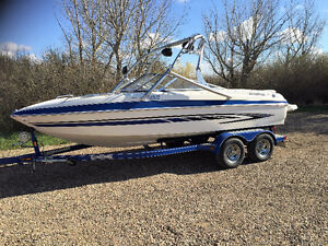 Great Family Boat and Trailer with low hours