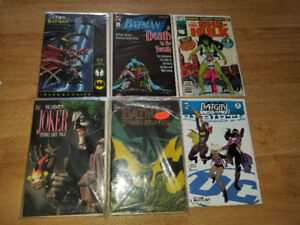 Lot of 2 Short Boxes (300 Comics) Nice Comic Lot collection