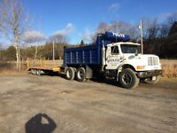 Truck and trailer unit
