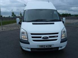 FORD TRANSIT T350 100PSi LWB HI ROOF MESS UNIT 2012