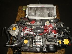 JDM SUBARU IMPREZA STI GC8 EJ20 TURBO ENGINE, 5SPEED TRANSMISSIO