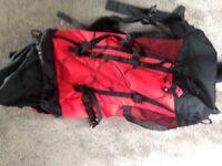 Hikers rucksack