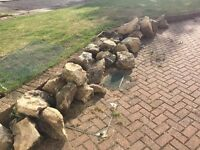 Cotswold Stone rocks