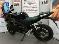 YAMAHA YZF R125 125cc sports faired learner legal abs up side down forks