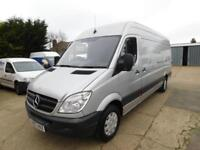 Mercedes-Benz Sprinter 2.1TD 311CDI LWB In Silver WITH AIRCON Clean