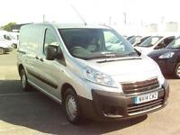 Peugeot Expert 1000 1.6 HDI 90 L1 H1 DIESEL MANUAL SILVER (2014)