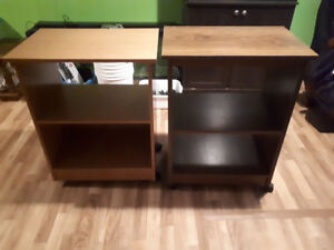 tables for microwave / etc !