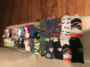Lot of Baby Boy Socks (40 pairs) 3 months - 4T