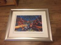 Hammersley Red Rock (signed) painting