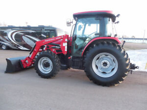 NEW DEMO MAHINDRA M85, CAB & LOADER INCLUDED