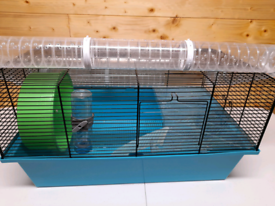 Hamster cage, critter cruiser, transportation cage and other accessori