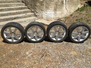 Mag volvo avec pneus 245/40/18