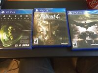 PS4 games for sale/trade