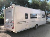 2009 Bailey Senator Arizona 4 berth caravan MOTOR MOVER FITTED Awning BARGAIN !