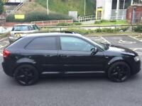 Audi A3 2.0TDI 170BHP S LINE BLACK EDITION S/S,HPI CLEAR,SUNROOF,1 OWNER,XENON