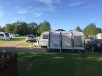 Kampa 390 Rally Caravan Awning Lightweight