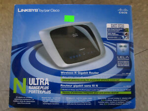 Linksys WRT310N Wireless-N Gigabit Router