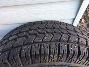 Artic Claw Winter tires on rims Prince George British Columbia image 2