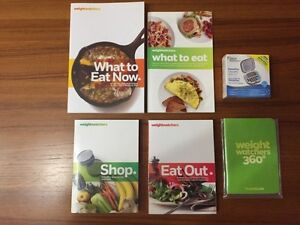 Weight Watchers PointsPlus plan materials