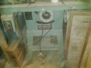 King Industrial Table saw KC10GC Sarnia Sarnia Area image 1