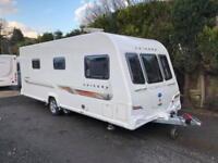 2012 Bailey Unicorn Almeria 4 Berth caravan Fixed Bed MOTOR MOVER Bargain !