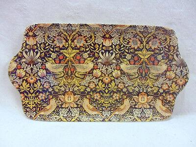 Heron Cross Pottery William Morris birds tapestry design sandwich plate