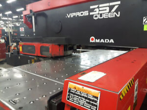 USED CNC TURRET PUNCH, MAKE AMADA, MODEL VIPROS 357 QUEEN , 1996