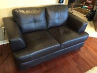 Brown Love Seat Couch