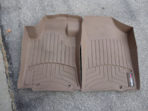 Nissan Altima All Weather Floor Mats Beige Custom Weather Tech