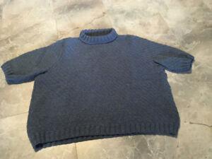 Women's hand knit sweater