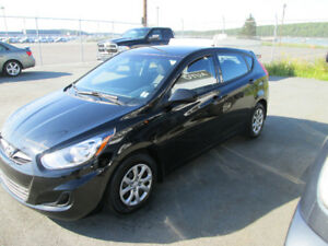 2013 Hyundia Accent 5 door hatch back Auto