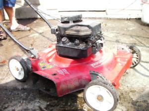Lawnmowers good condition $60 phone 519 753 4461 Brantford