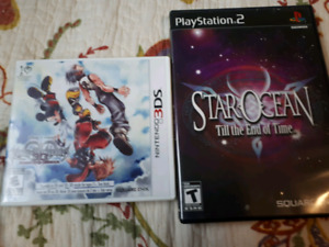Used 3ds and PlayStation 2 game for sell