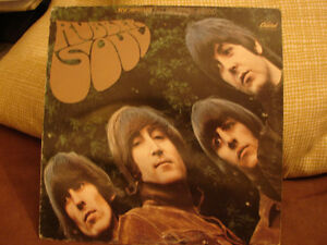THE BEATLES-RUBBER SOUL-CAPITOL-EMI Records--SW-2442-BEAUTI