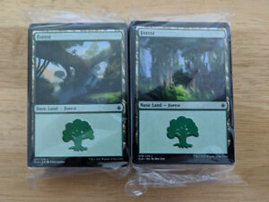 MTG - Magic the Gathering - 160 basic lands lot