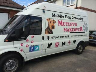 Mutleys makeover mobile dog grooming