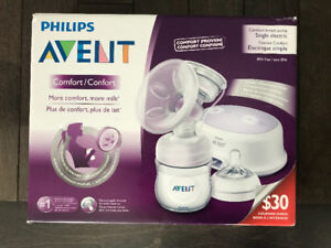 Philips Avent Single Electric Breast Pump - LIKE NEW!