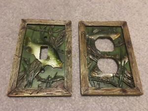 Largemouth Bass Light Switch/Electrical Outlet Cover Set UNIQUE