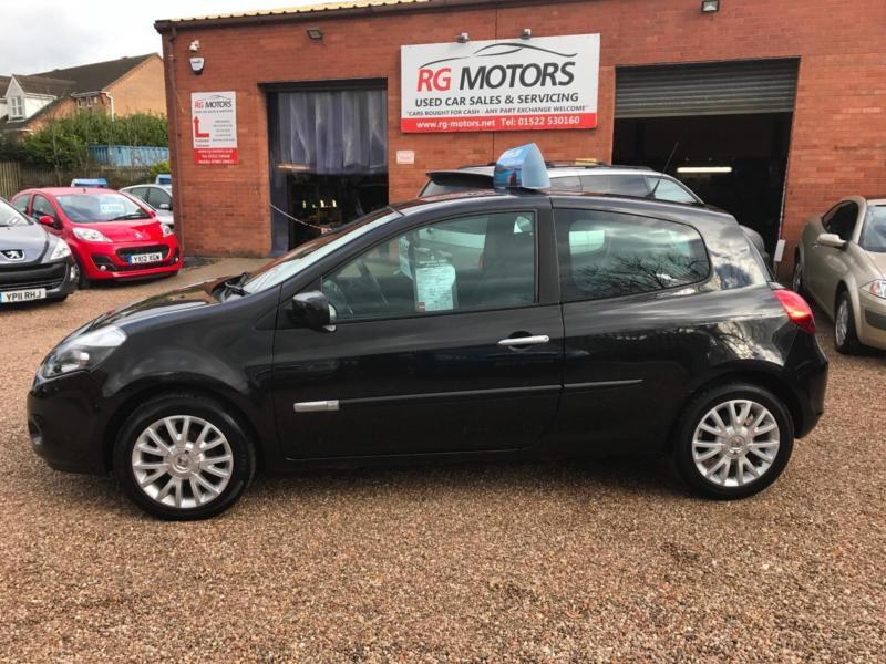 2010 Renault Clio 1.5 dCi 86 Dynamique Black 3dr Hatch, **ANY PX WELCOME**