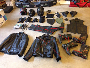 Motorcycle gear (Priced to sell Friday)