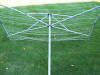 Umbrella Clothes Line Folding     *** Clothesline Dryer ***