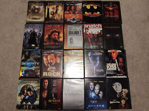 DVD Movies $6 for 5 / $22 for All