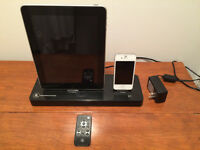 Dual charger/player,duo chargeur iPhone,iPad ,iPod